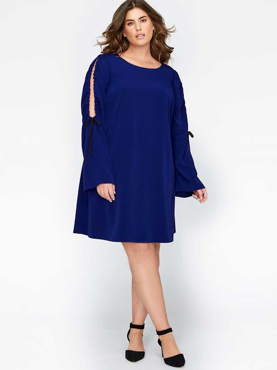 Rachel Roy Cold Shoulder Shift Dress