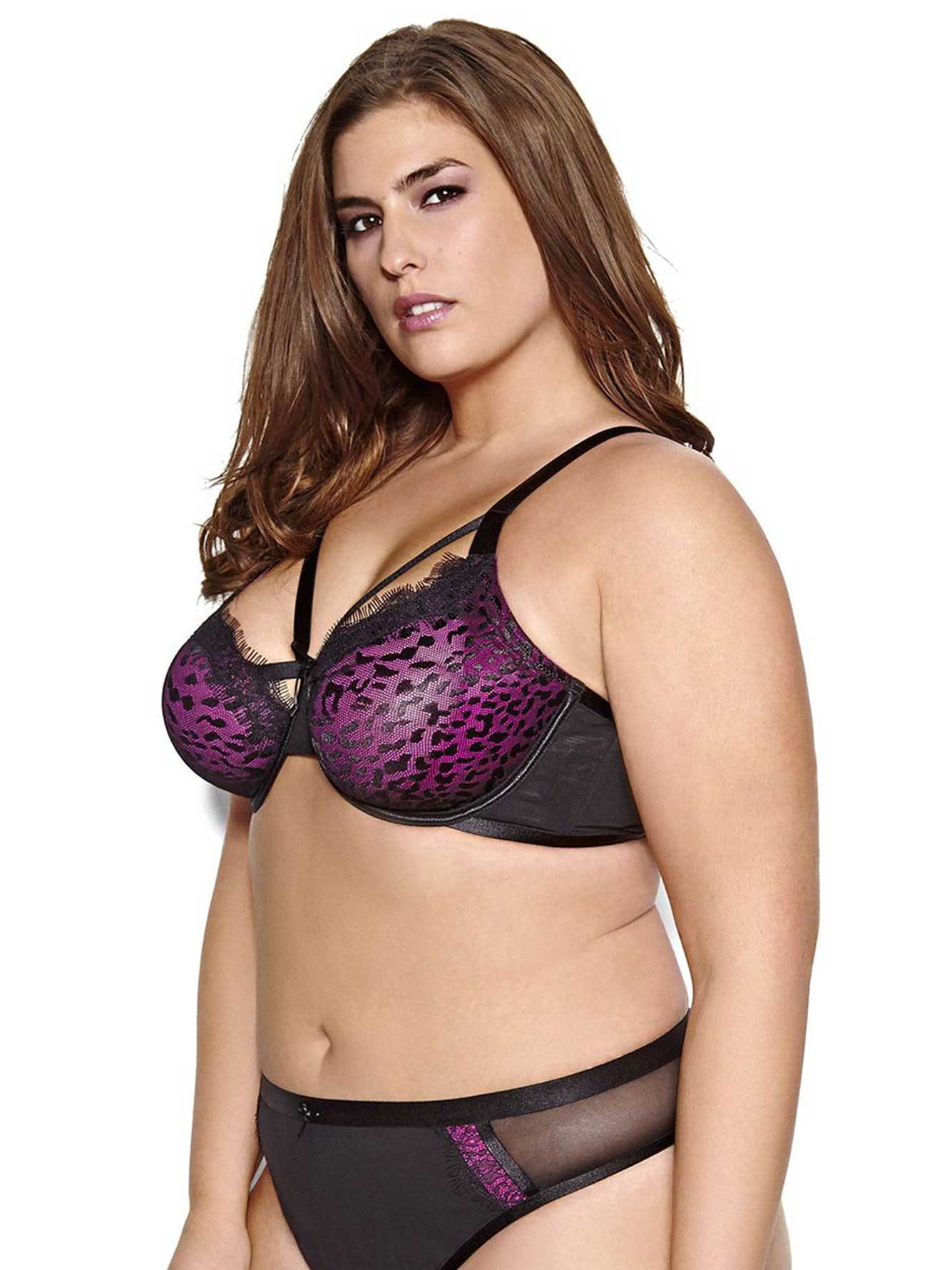 483b5b2be1 Ashley Graham Animal Print Fatal Attraction Unlined Bra