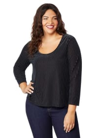 Burnout Velvet Top - Rebel Wilson x Angels