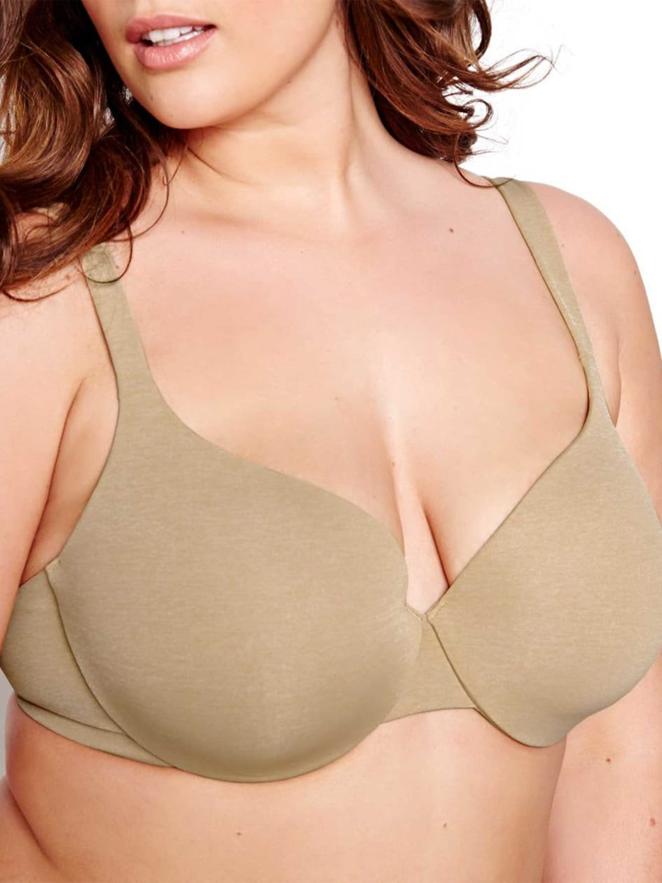 c3df0895fcaaf6 Basic Flawless T-ser Bra with White Base - Déesse Collection