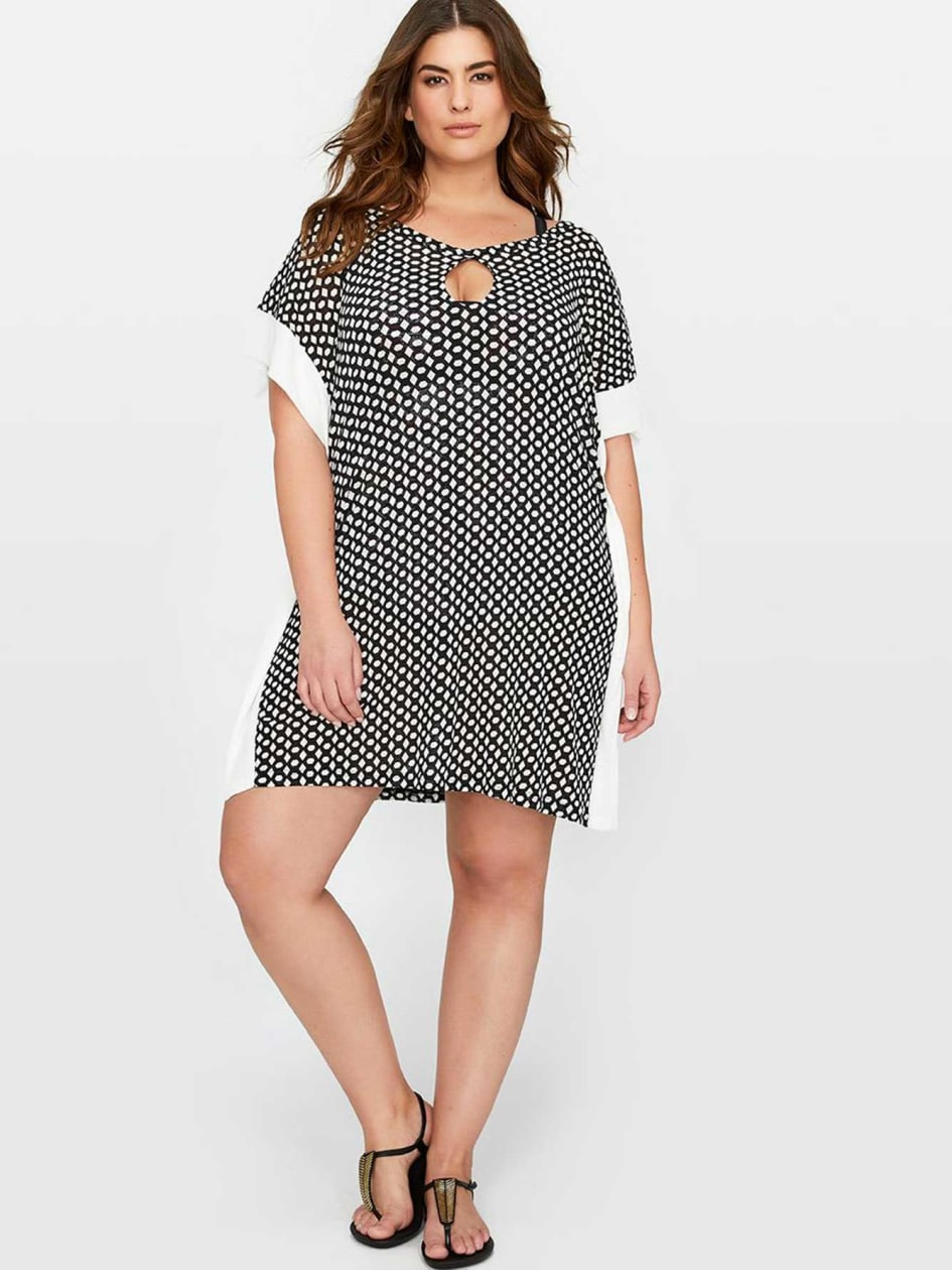 Cactus Cover-Up Printed Dress