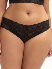Low Rise Lace Thong - Cosabella