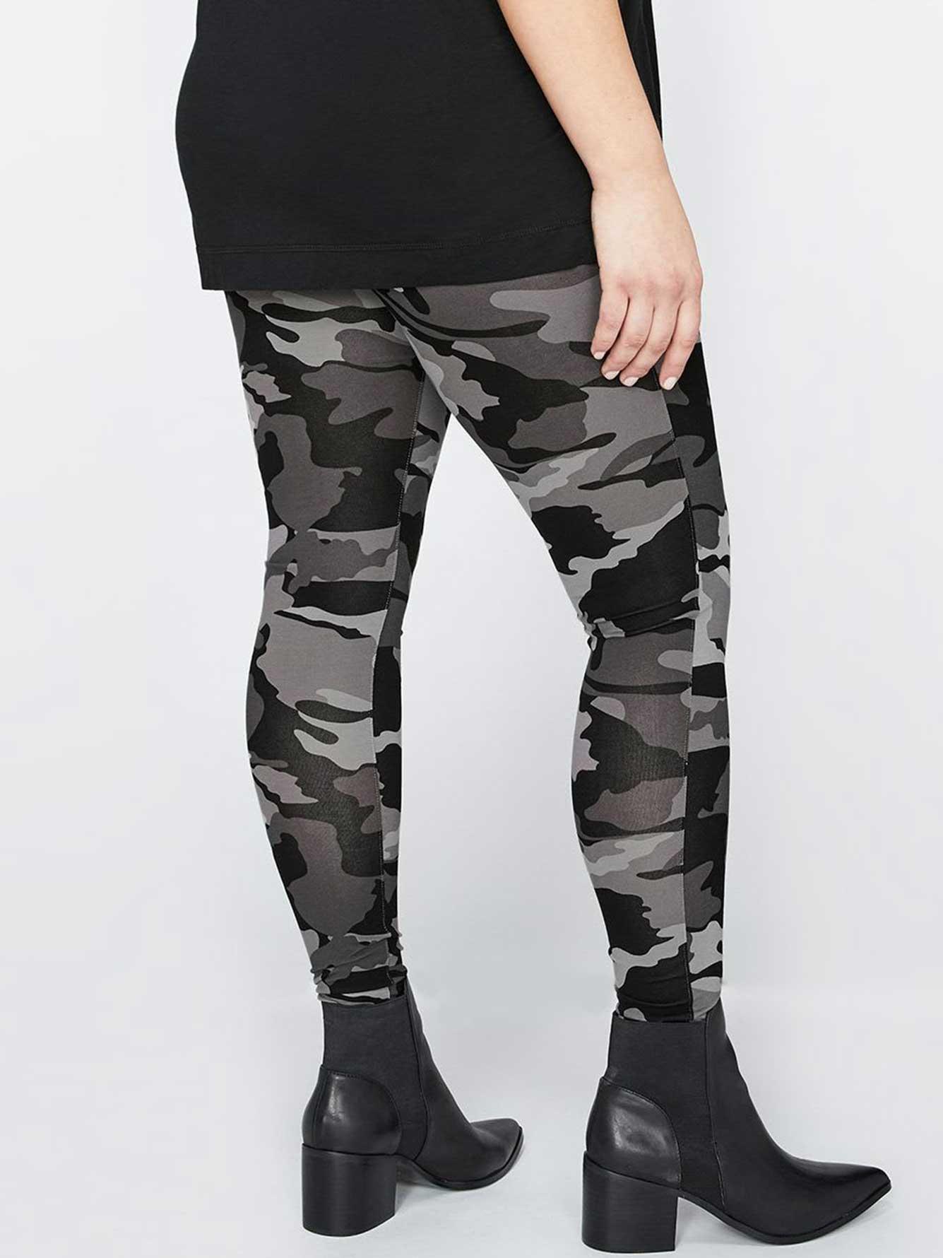 3078721008dbe Grey Camo Legging   Addition Elle