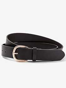 Basic Belt with Rose Gold Buckle