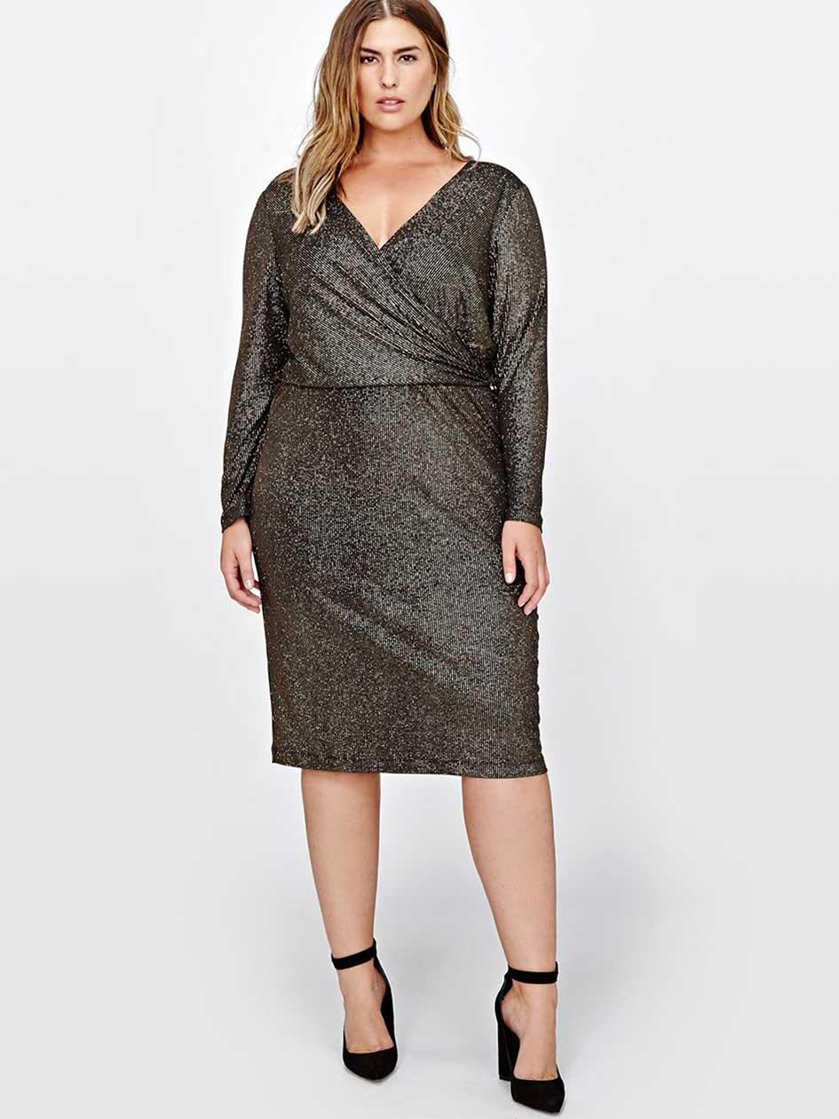 Sangria Wrap Dress