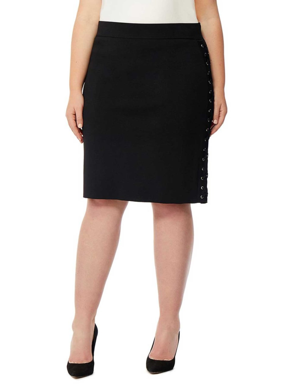 Rebel Wilson Lace-Up Skirt