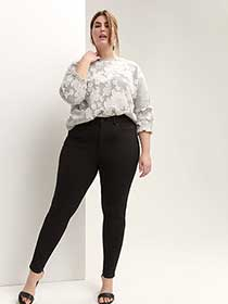 High Waist Skinny Pant - Michel Studio