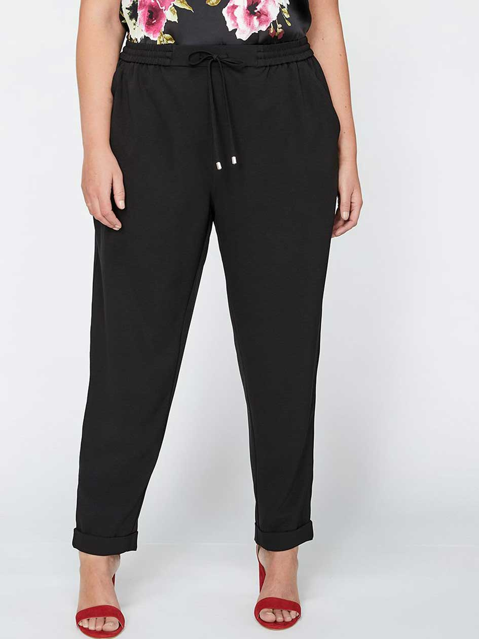 Michel Studio Solid Ankle Peg Leg Pant