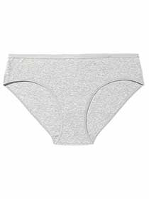 Bikini Panty with Heathered Effect - Déesse Collection