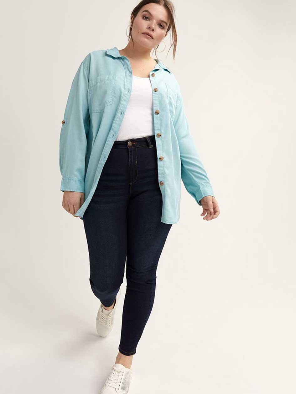 Vêtements Ligne Plus Magasinez Femmes Elle Addition En Taille wpqgwxP4