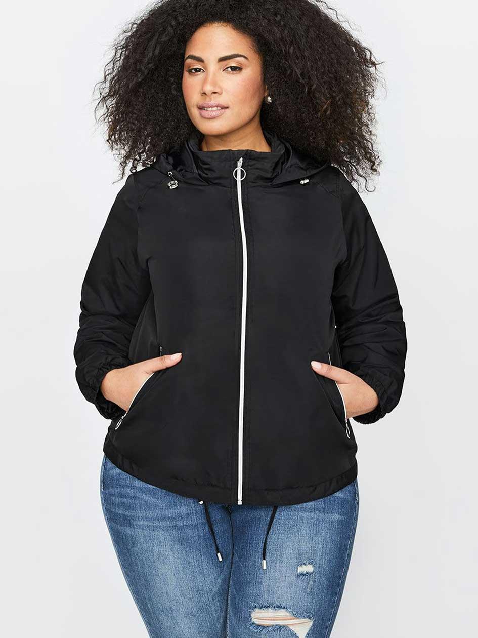 L&L Hooded Windbreaker Jacket