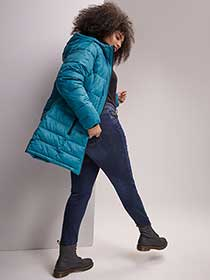 Hooded Puffer Jacket - Livik