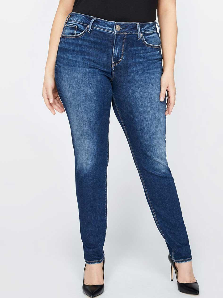 Silver Avery Super Skinny Jean