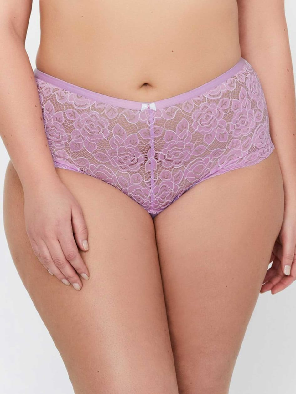 Cross Dye Lace Femme Couture Panty