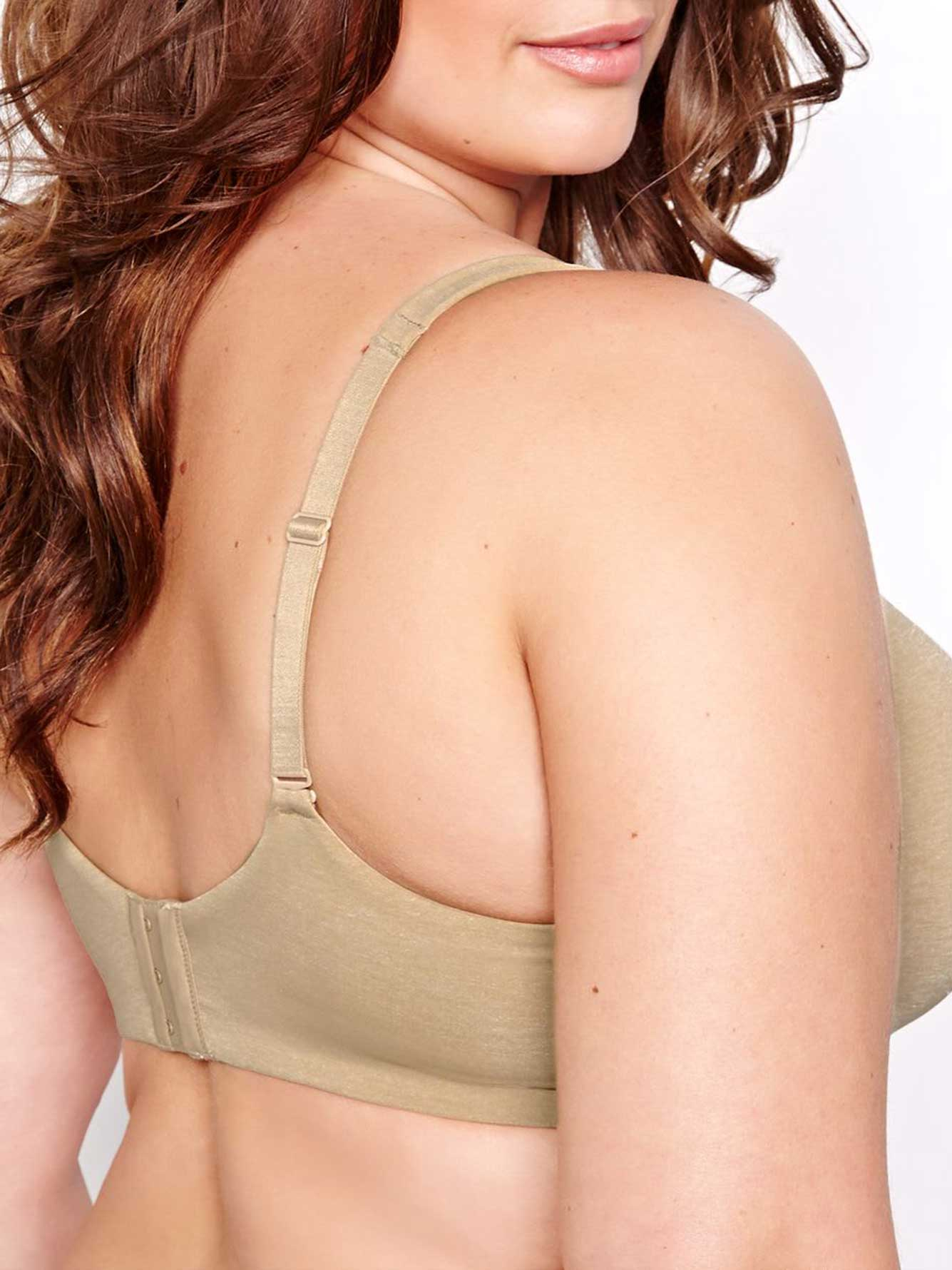 Basic Flawless T-ser Bra with White Base, Sizes G & H - Déesse Collection