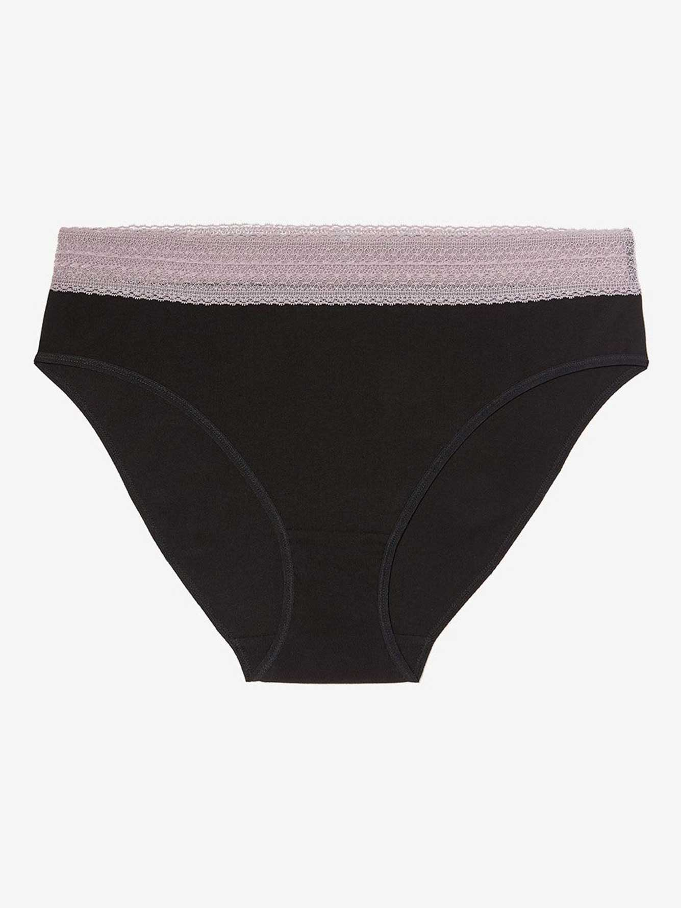 f4cdf6312d High Cut Cotton Panty with Lace - Déesse Collection