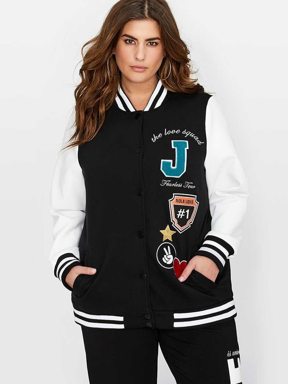 Nola x Jordyn Woods Varsity Jacket