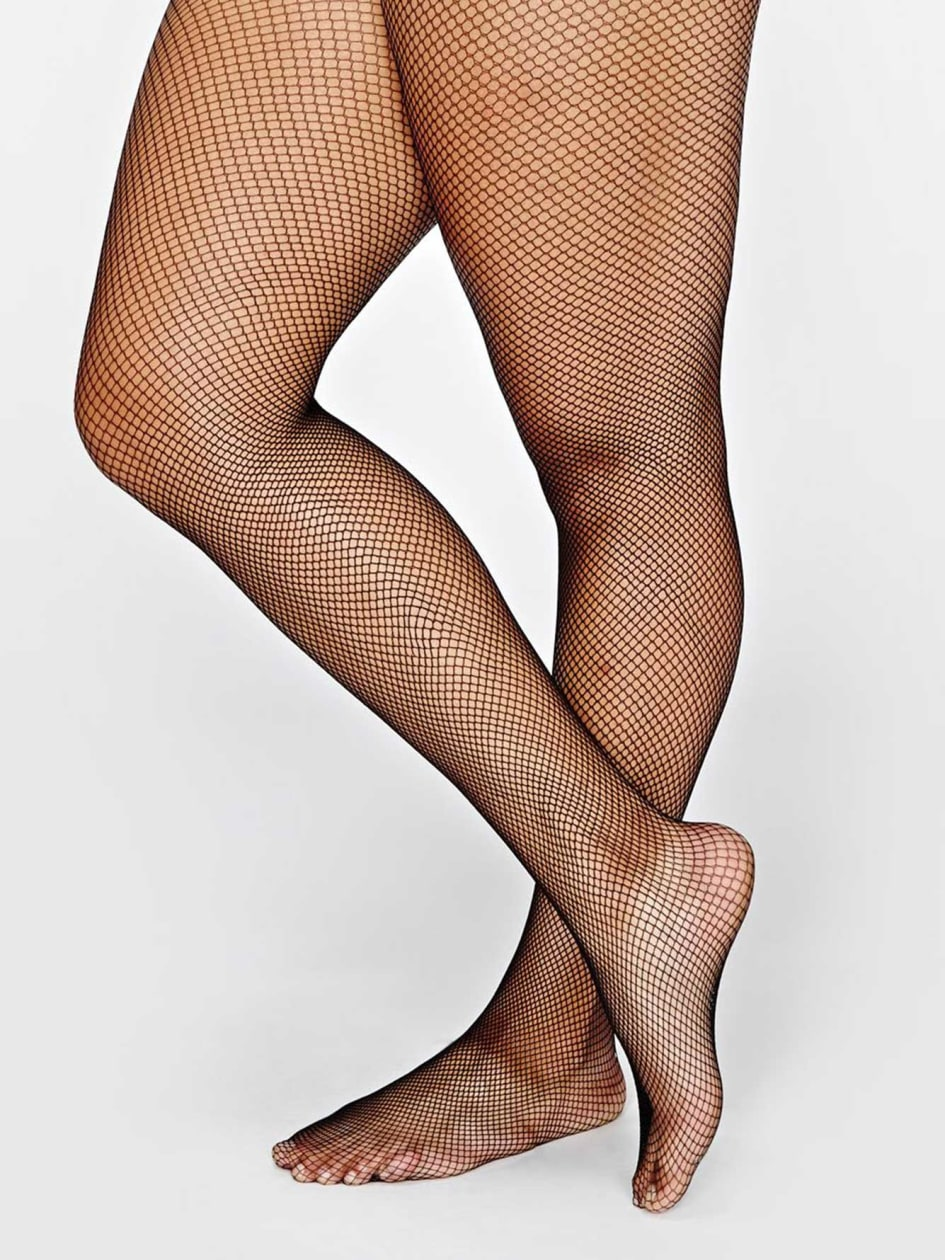 1920s Style Stockings, Tights, Fishnets & Socks Fishnet tights $15.00 AT vintagedancer.com