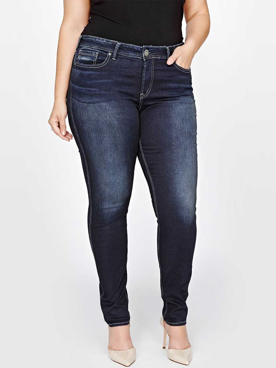 Silver Suki Super Skinny Denim