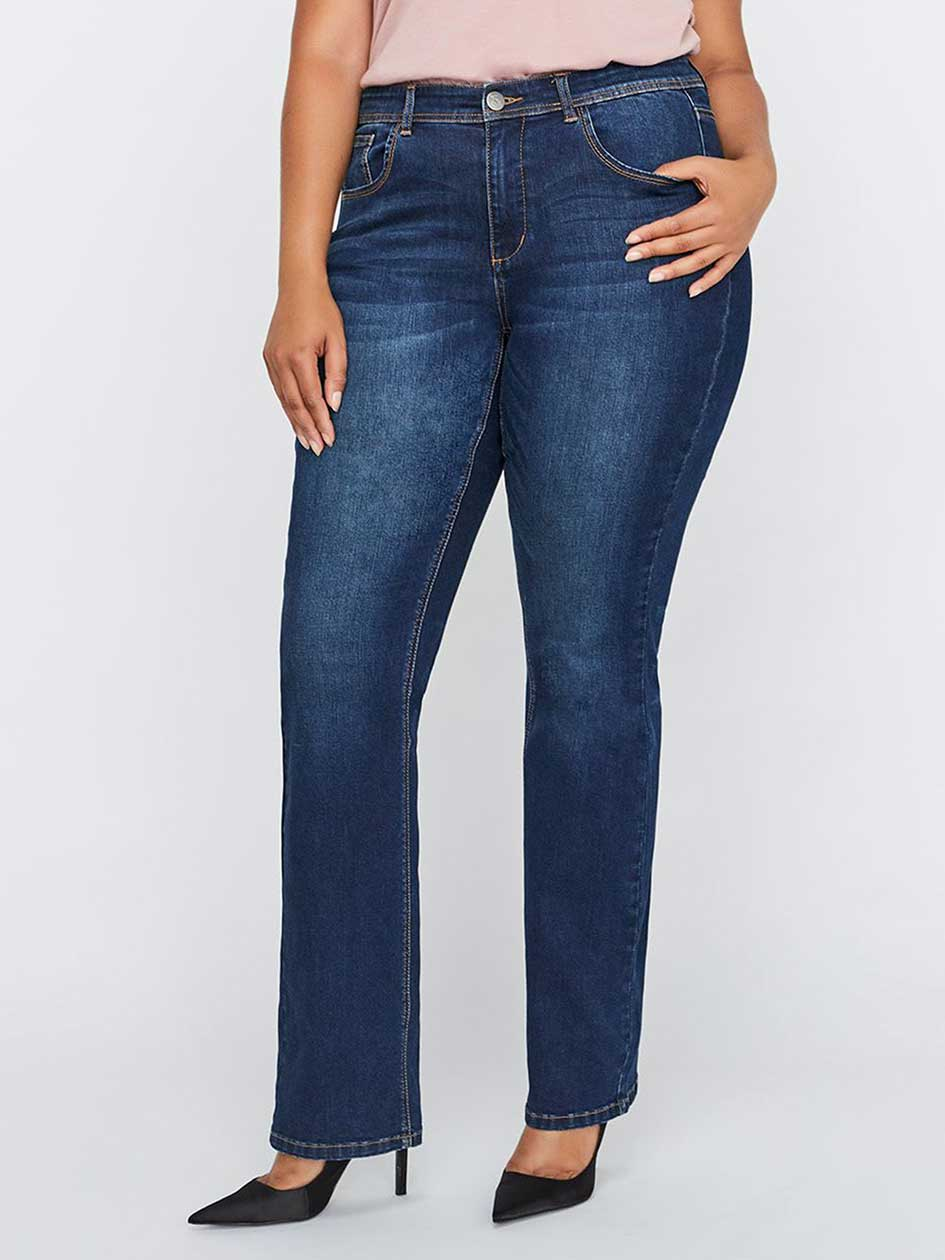 L&L Authentic Barely Boot Leg Jean