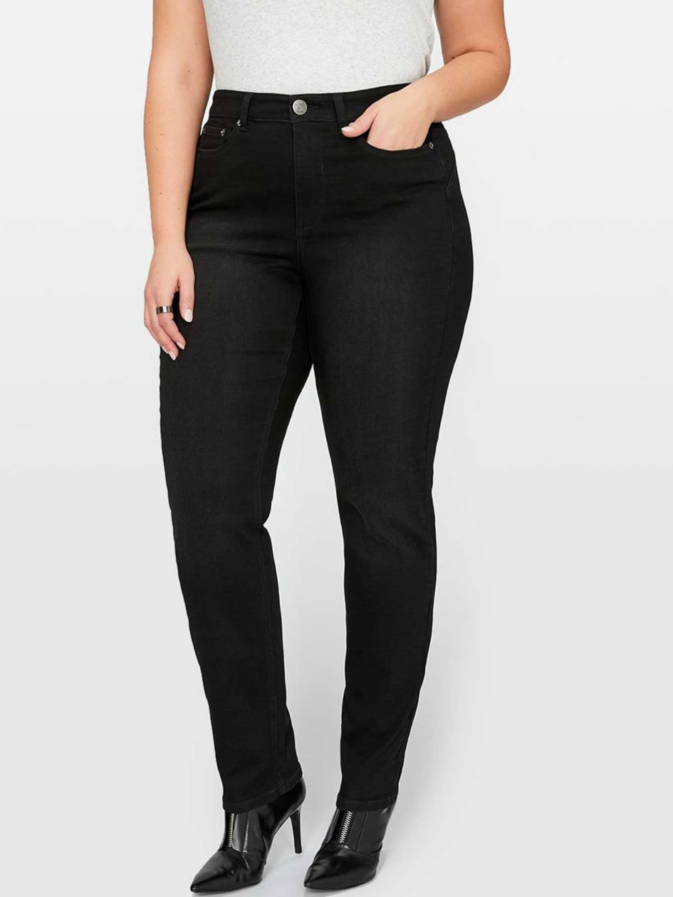 L&L Super Sculpt Slim Leg Jean, Shaped Fit
