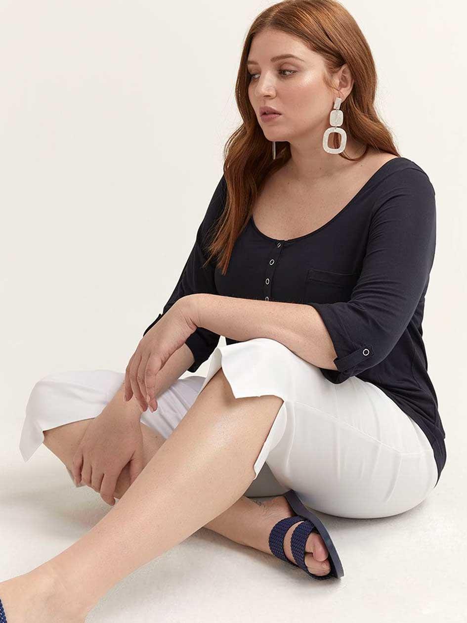 33c6cae7e896b Women's Plus Size Pants| Addition Elle