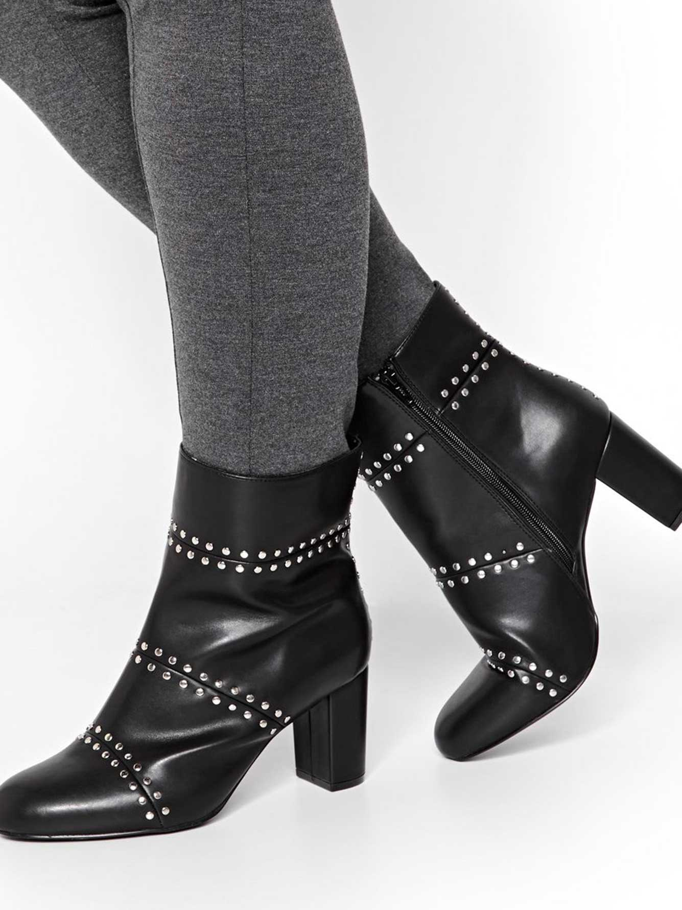Leah Studded Bootie