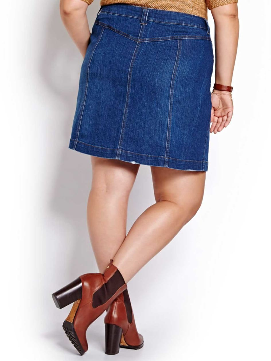 L&L Denim Mini Skirt
