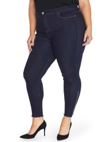 The Icon High Rise Side Zip Ankle Jegging - Rebel Wilson