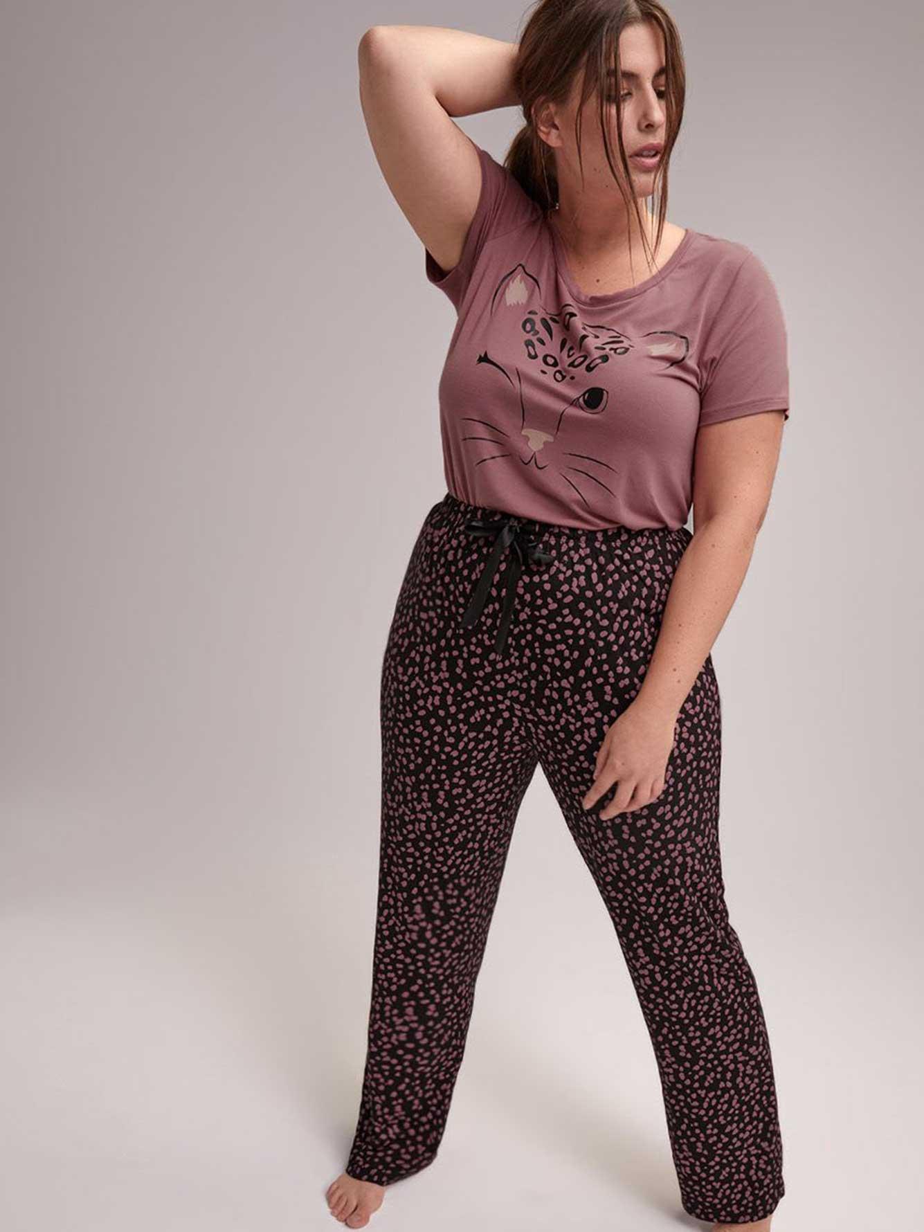 Straight Leg Pajama Pant - Déesse Collection  08126fbee