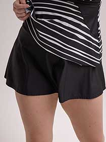 Flared Retro Swim Skirt - Cactus