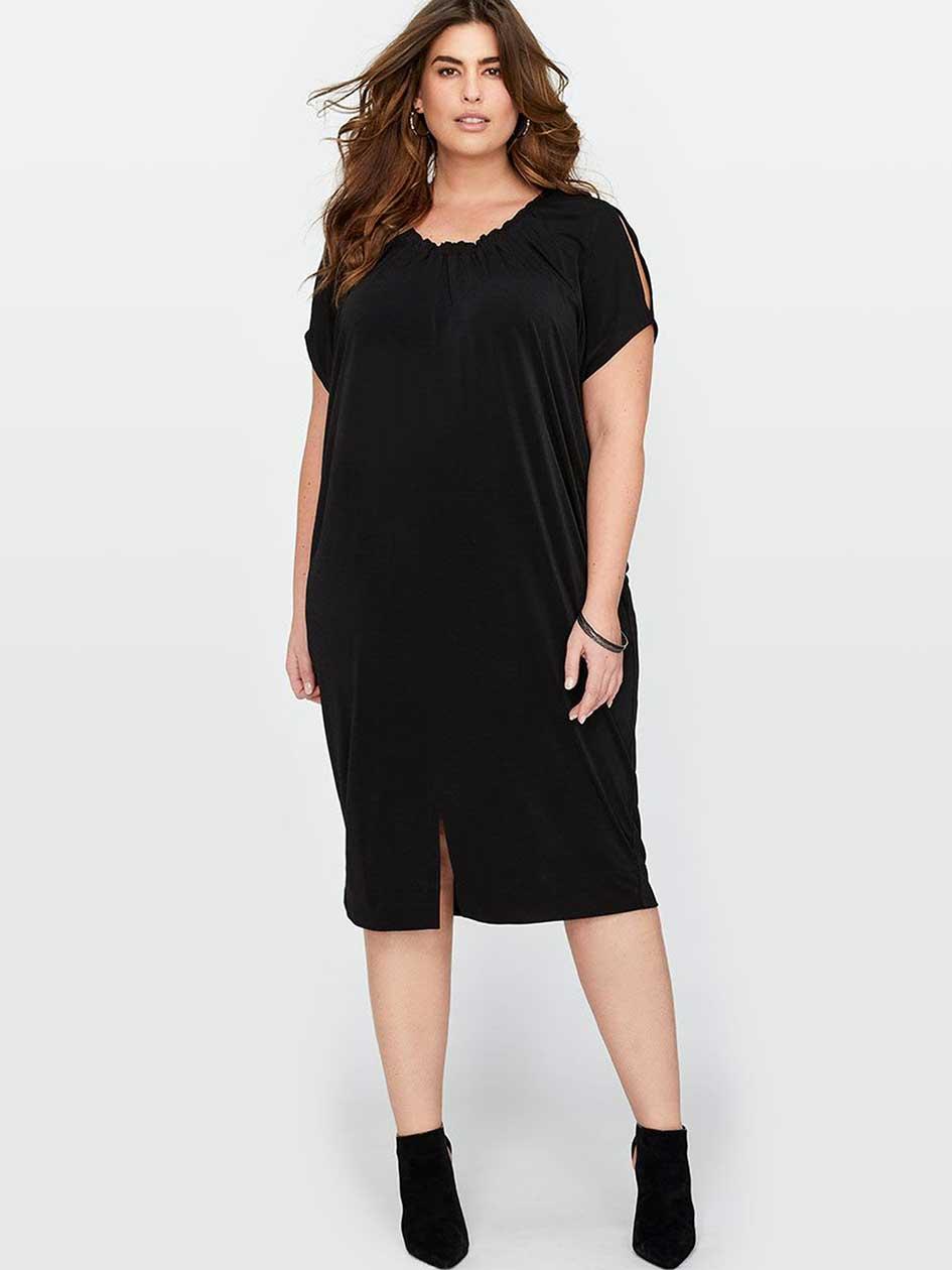 Rachel Roy Cold Shoulder Dress