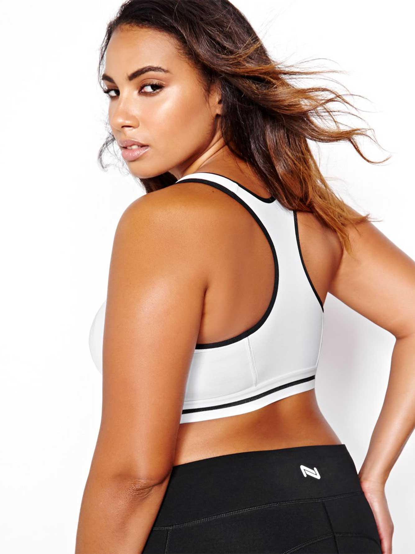 c125eae25fd3e Nola Zip Front Sports Bra | Addition Elle