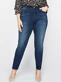 L&L Authentic Baked Wash Skinny Jean