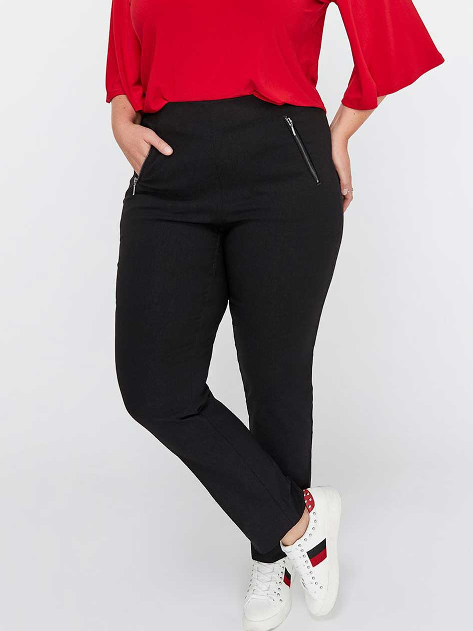 Womens Plus Size Tall Pants Addition Elle