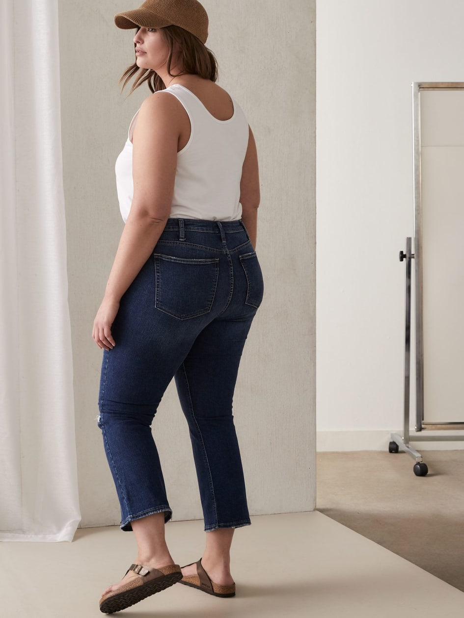 High Note Cropped Jean - Silver Jeans