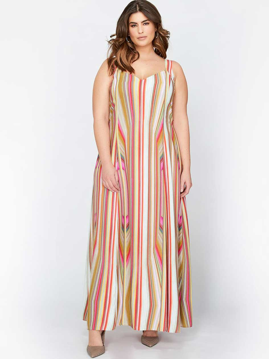Rachel Roy Sleeveless Strap Maxi Dress