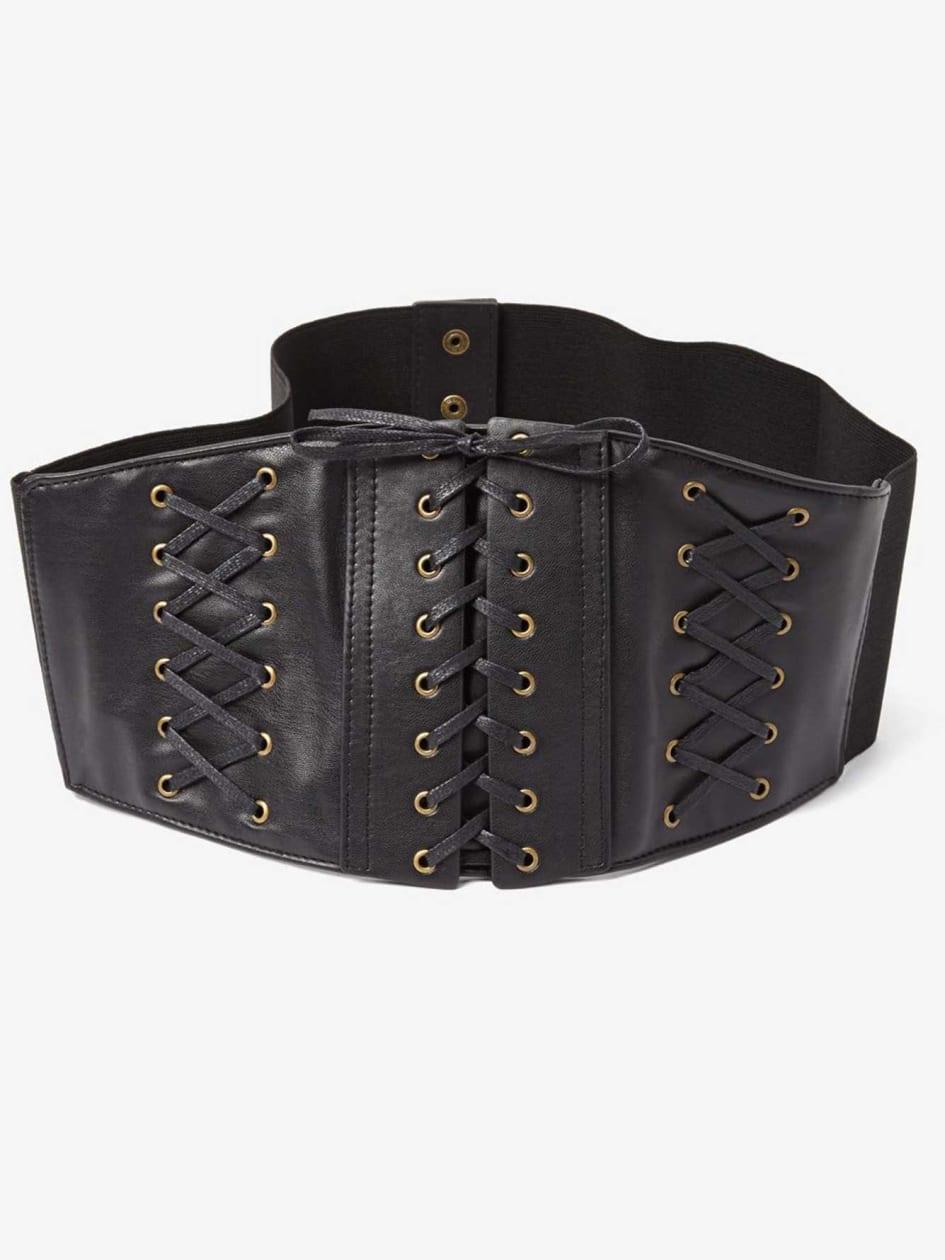 Steampunk Plus Size Clothing Corset Belt $40.00 AT vintagedancer.com