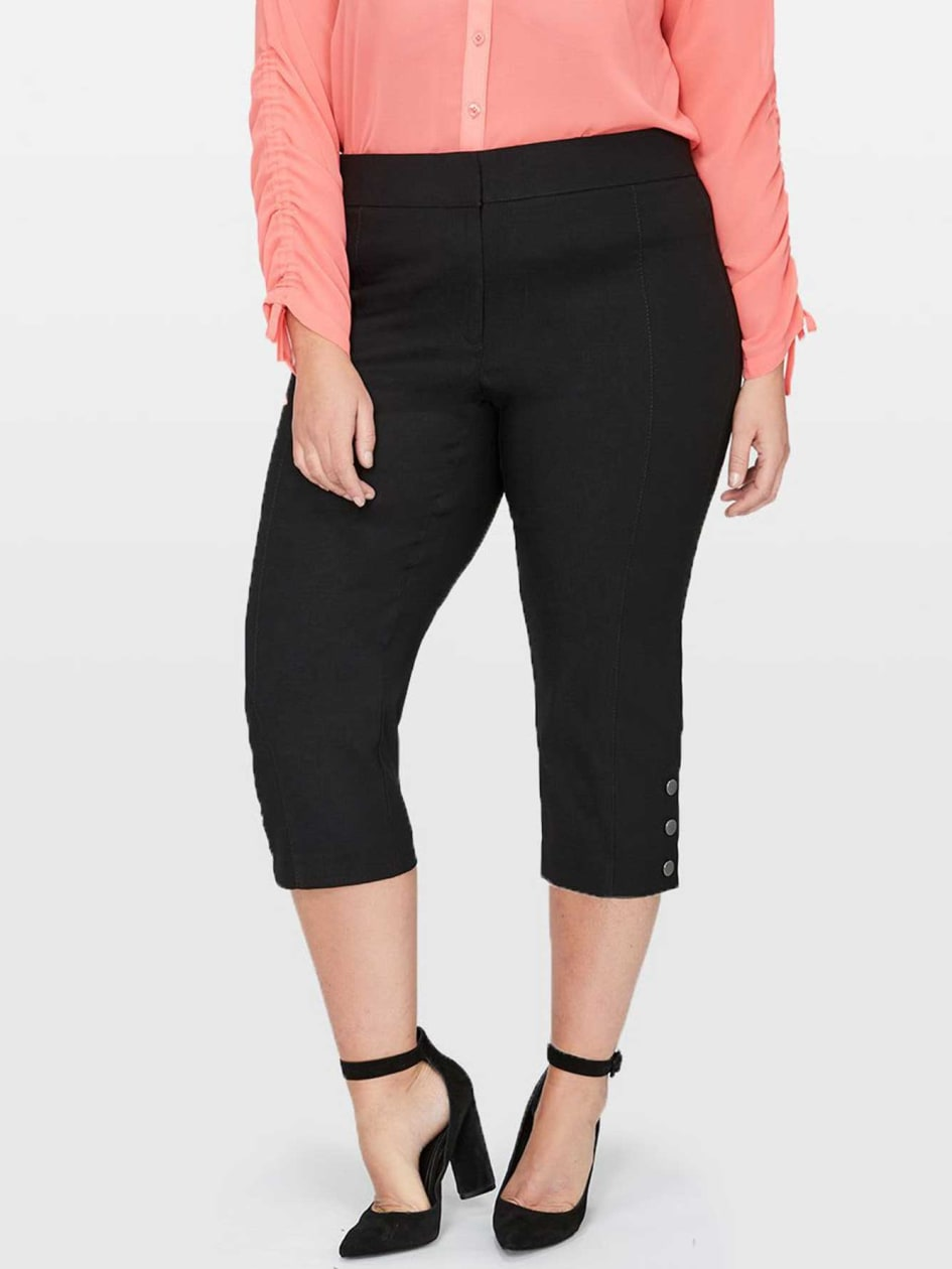 Michel Studio Alexa Capri with Snap Closure