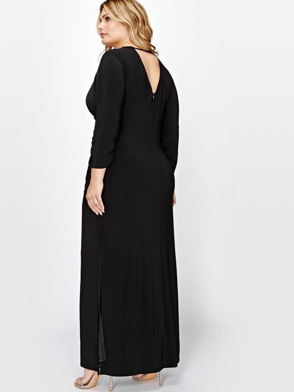 Scarlett Black Maxi Dress