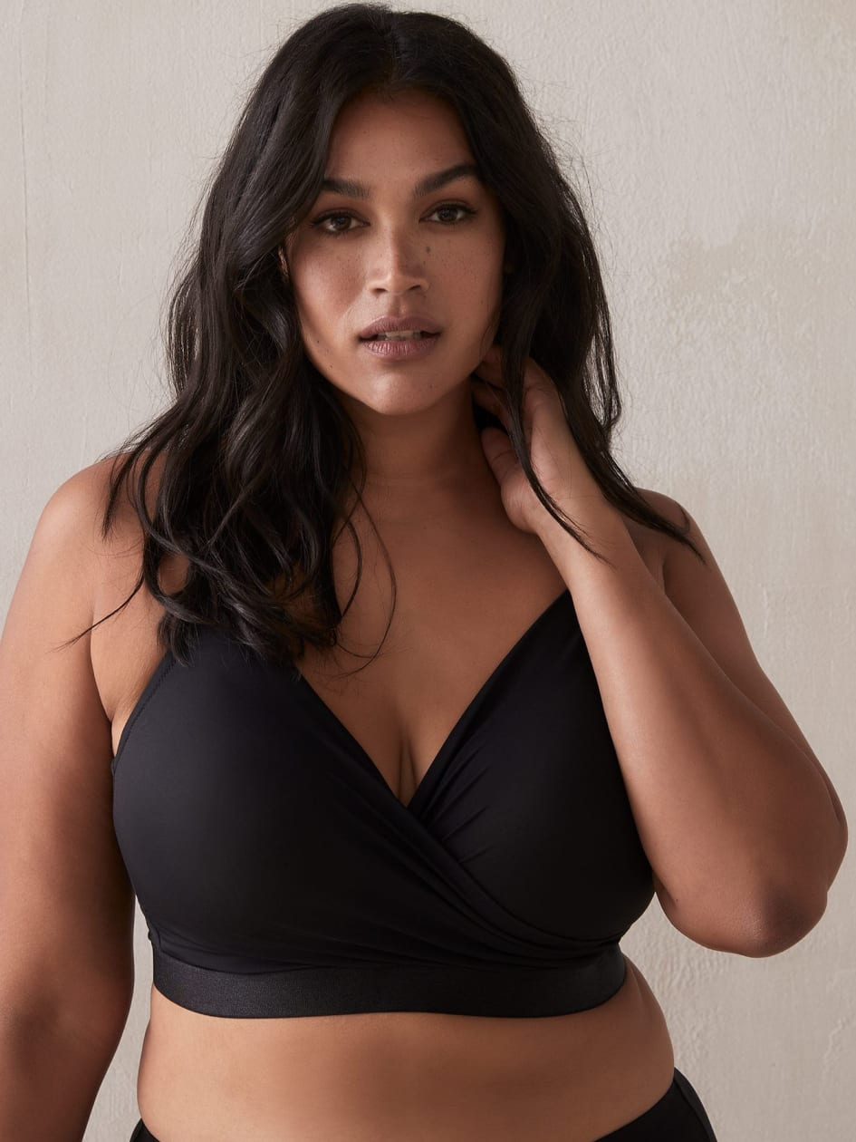 Lounge Crossover Bra - Déesse Collection