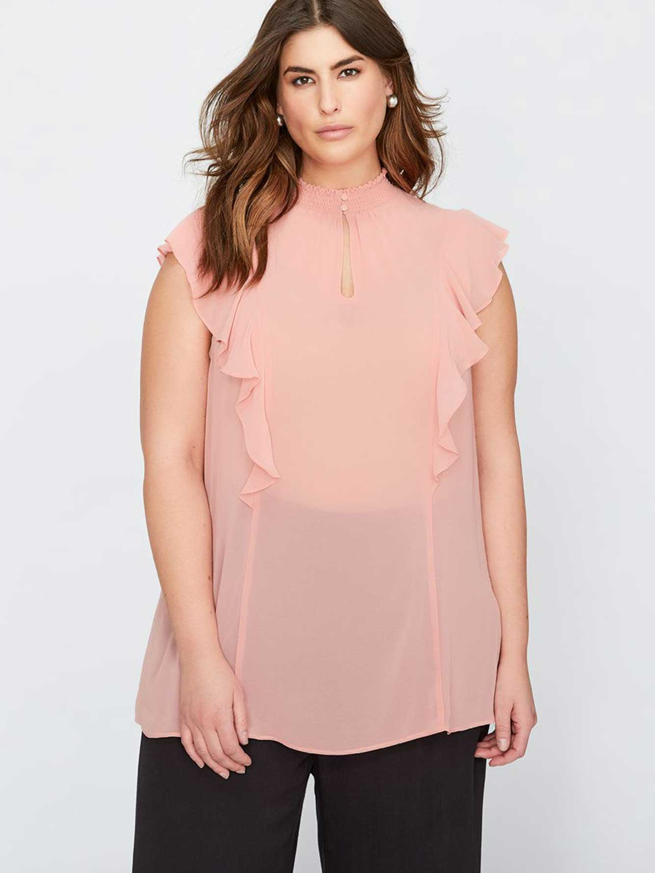 6291fb69e262c9 Pink Ruffle Blouse Plus Size « Alzheimer's Network of Oregon