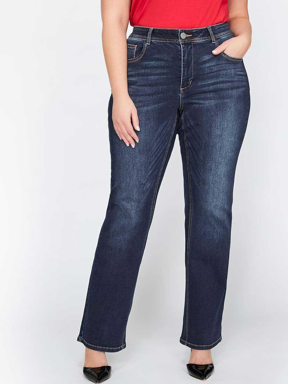 L&L Barely Bootcut Curvy Jean