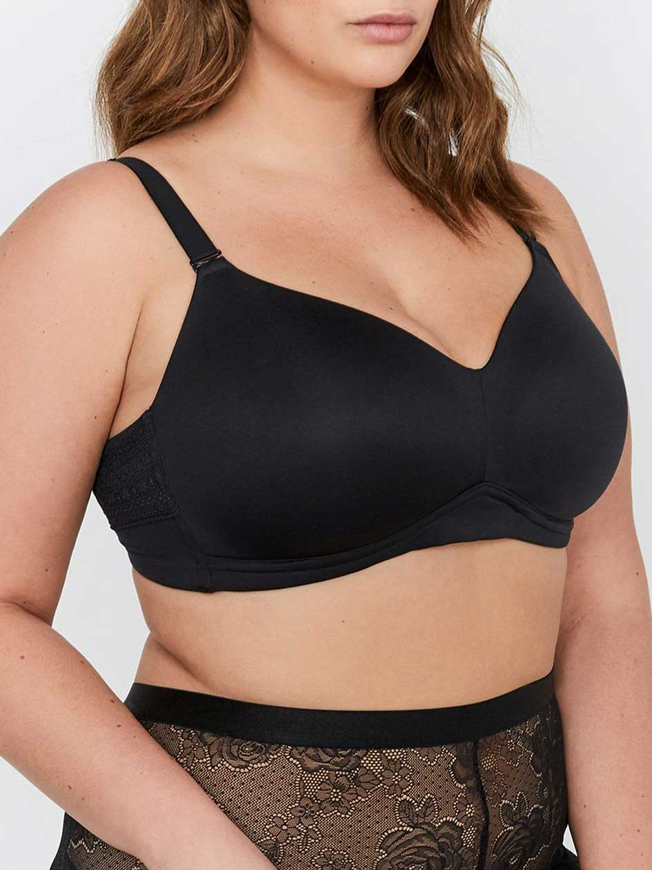 Déesse Collection Sizes G & H - Wireless Padded Bra