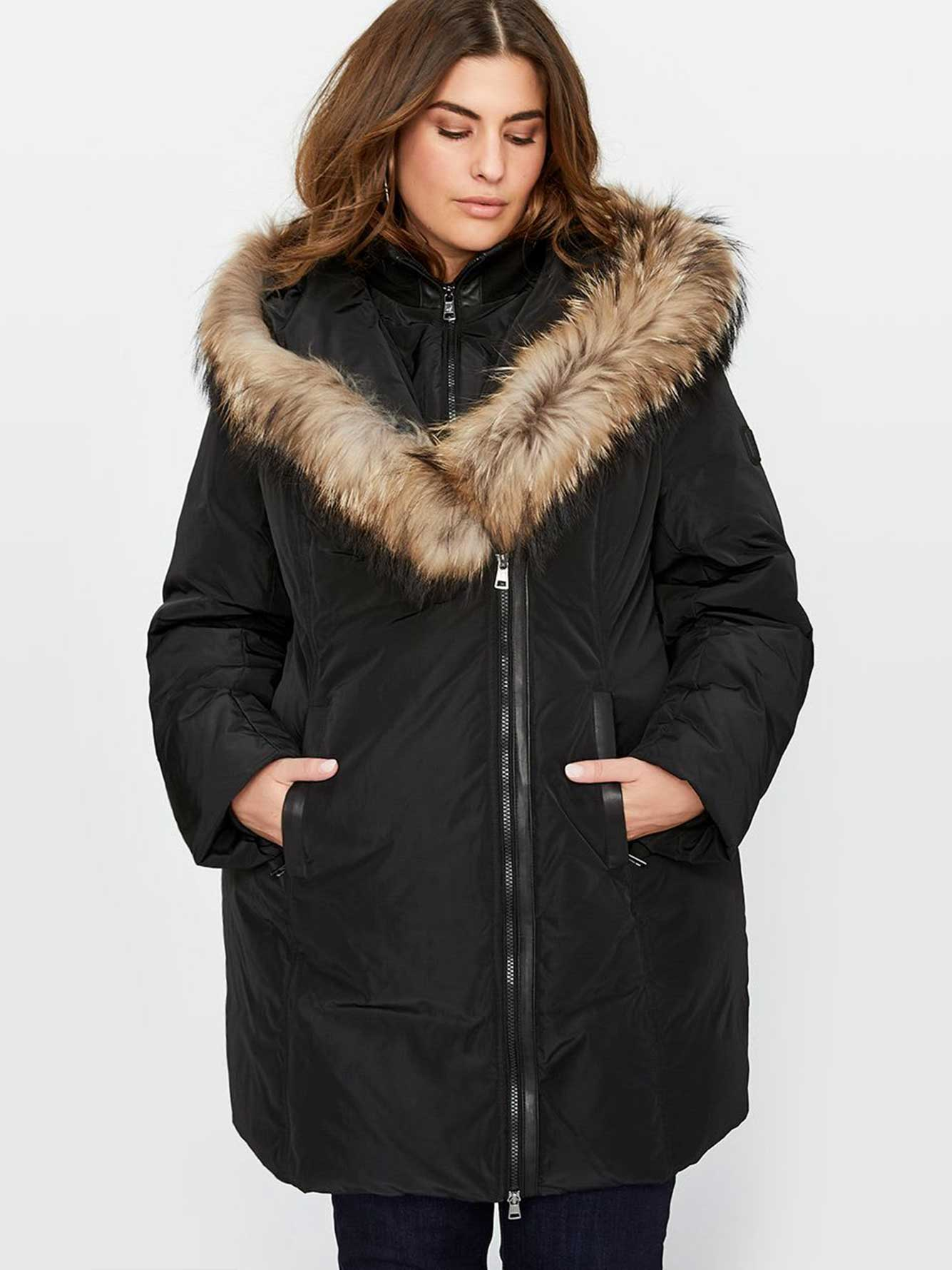 77c490c81 Ookpik Real Fur Hooded Jacket | Addition Elle