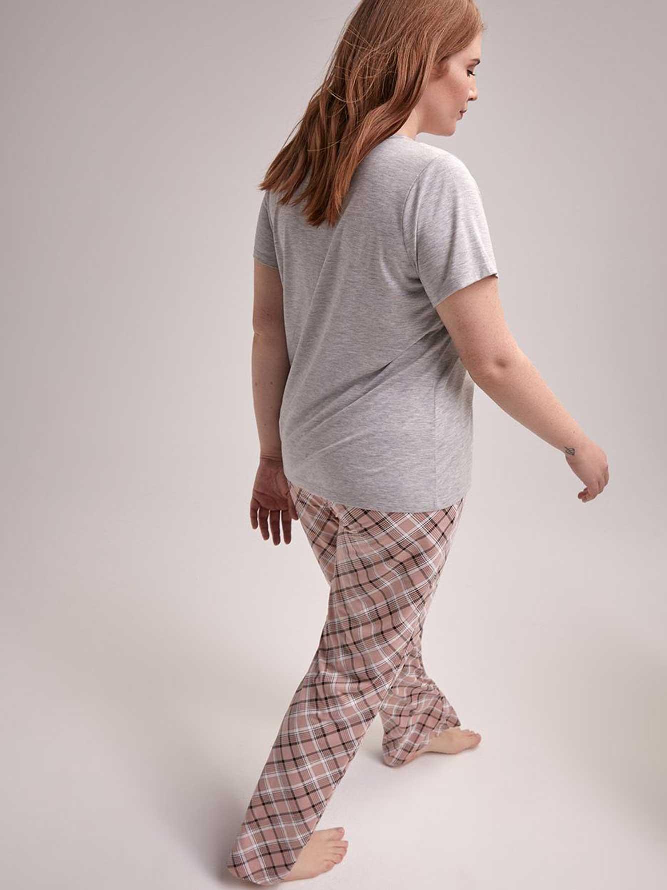 Ensemble pyjama t-shirt et pantalon bois de cerf - Collection Déesse ... e379dcf99f3