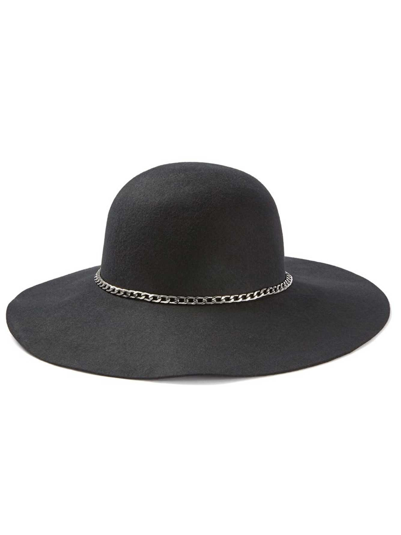 Wide Brim Felt Hat  b117648e4209