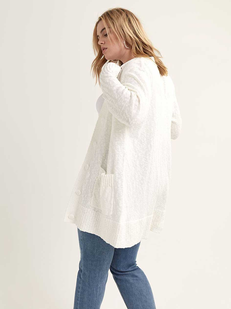 Long V-Neck Duster Cardigan - L&L