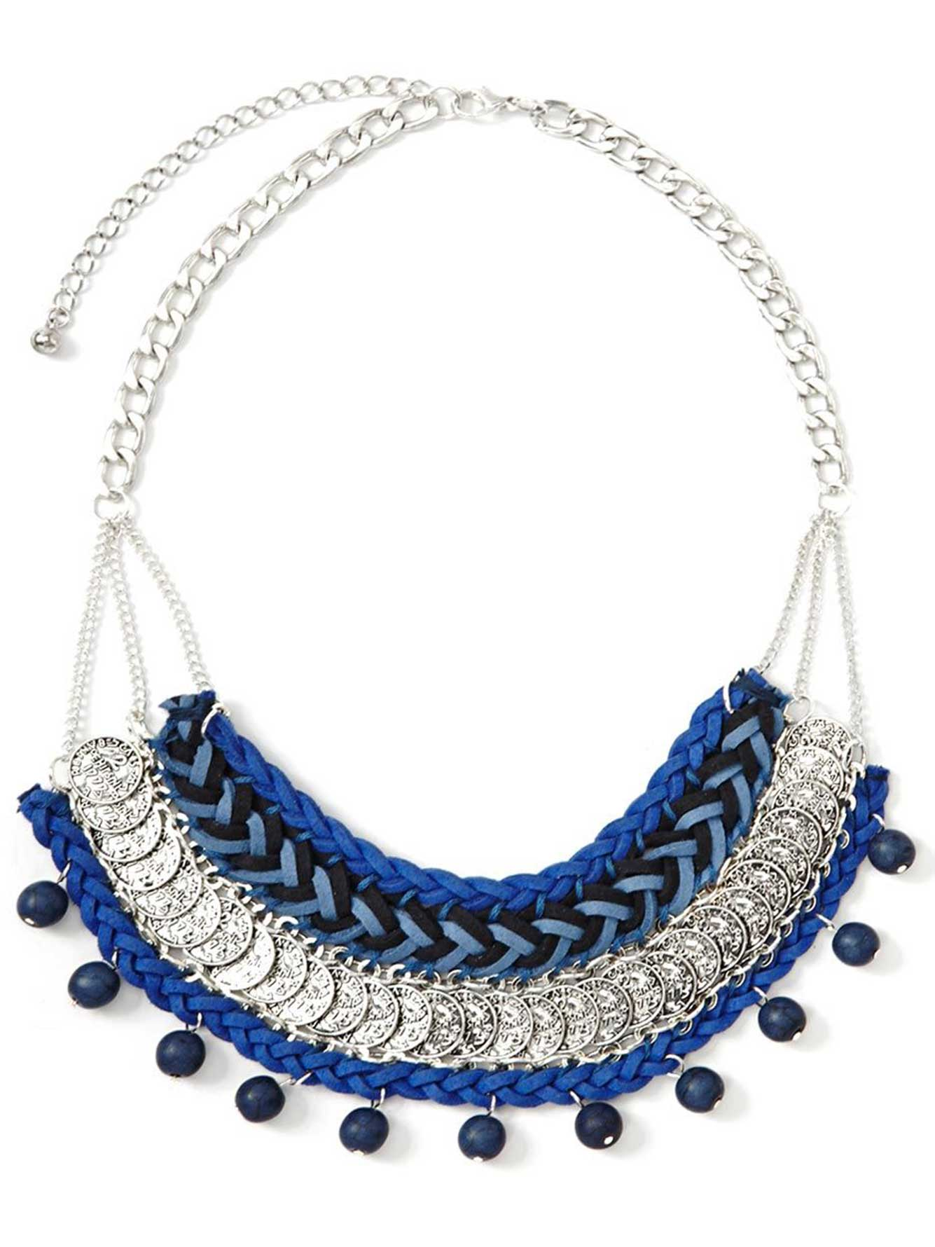 Collier style antique bobo-chic