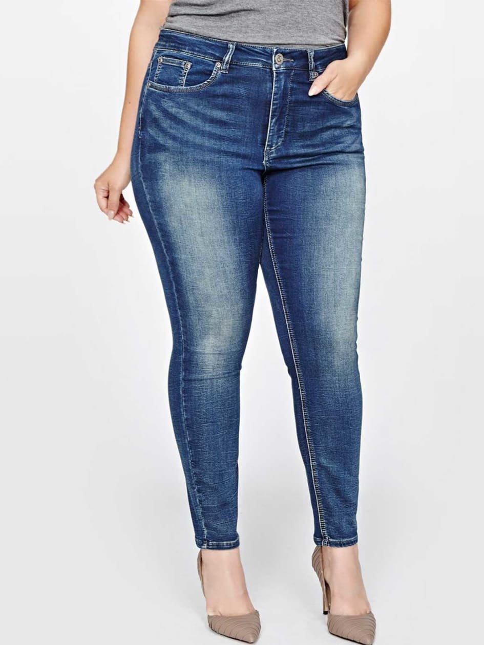 L&L Terry Denim Jegging